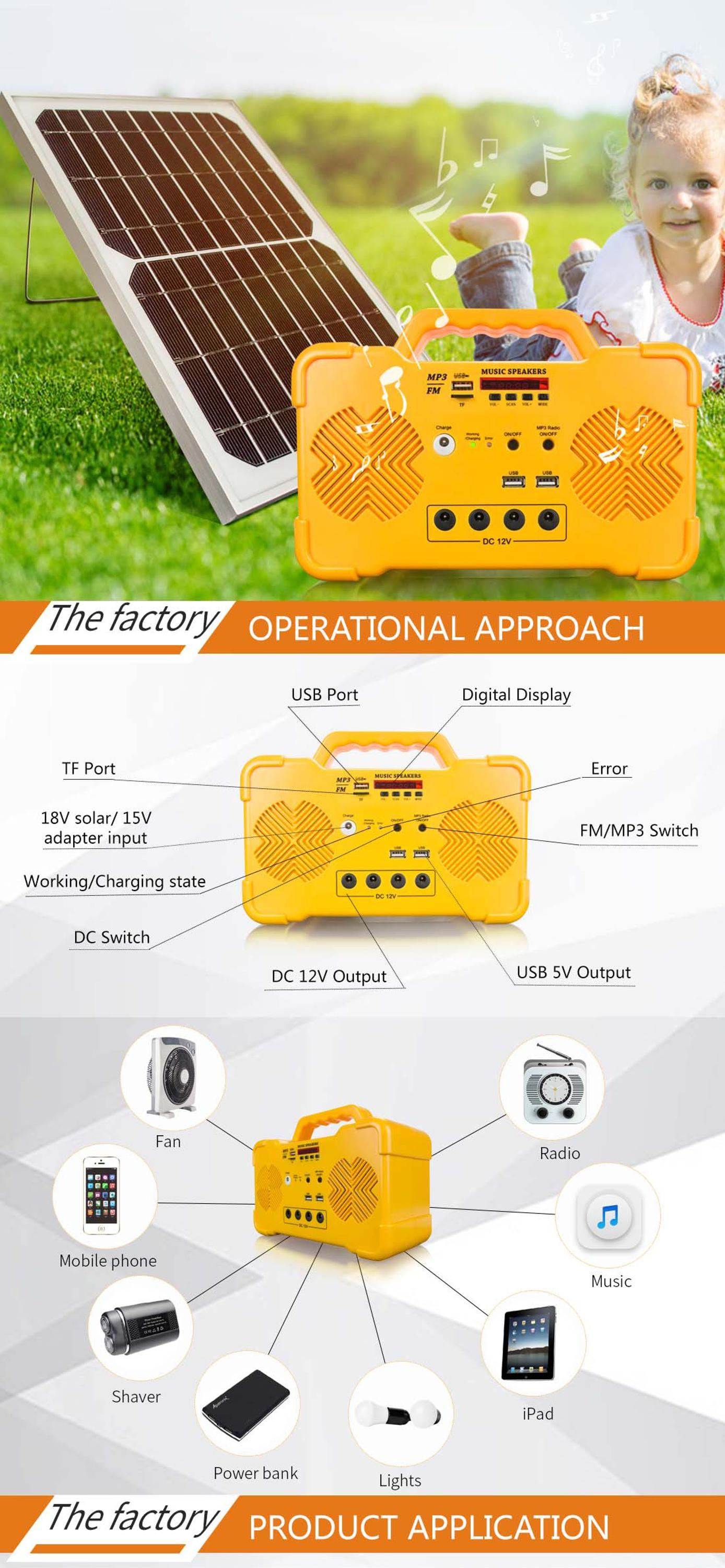 Wiring Diagram Electrical Ip65 Waterproof 5kw On Grid Solar System 12v 156156 Cell 15w Portable Power For Home Use