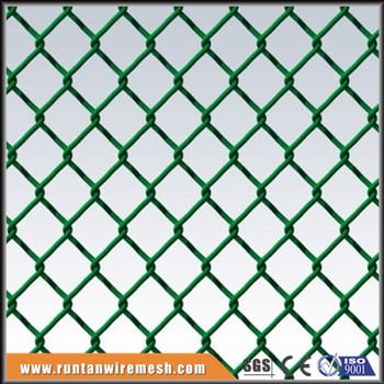Fine Mini Mesh Pvc Coating Tension Wire Chain Link Fence