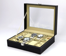도매 Ready Stock PU Leather Watch 주최자 Storage Case 보석 Watch Box