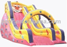 2013 cheap backyard Inflatable water Slides for kids and adults