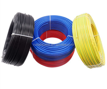 China Factory Supply Wholesale Electrical Wire Electric 6 Gauge 8 Gauge 12 Gauge 14Gauge 2.5mm Electrical Copper Wire