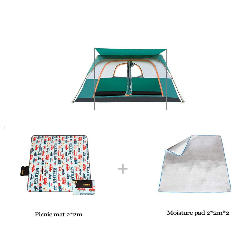 MODKOY Camping Tent, 5-8 People Outdoor Automatic Tent for Family Rainproof Multi-Person Camping