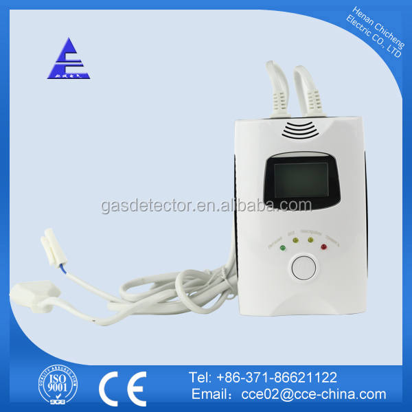 Personal Dual CO Alarm Combustible Gas Detector With Battery Operated