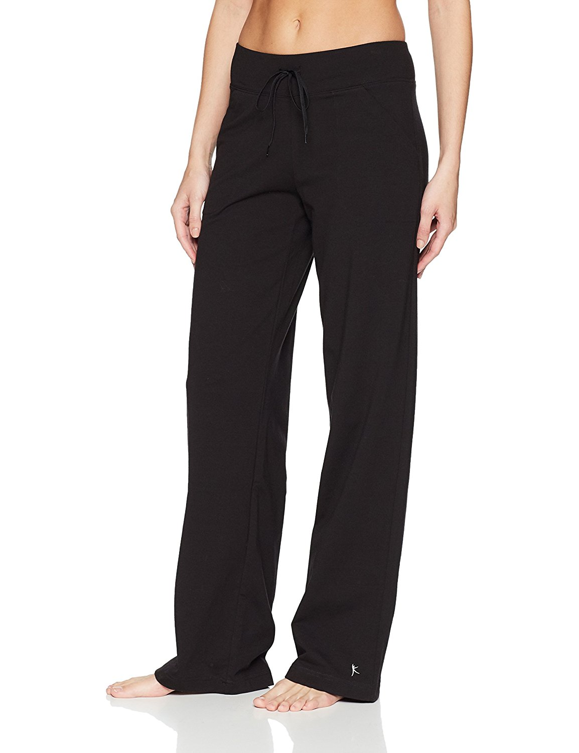 abe985ff7c Get Quotations · Danskin Now Women's Dri More Relaxed Pants, Petite - Yoga,  Fitness, Active Wear