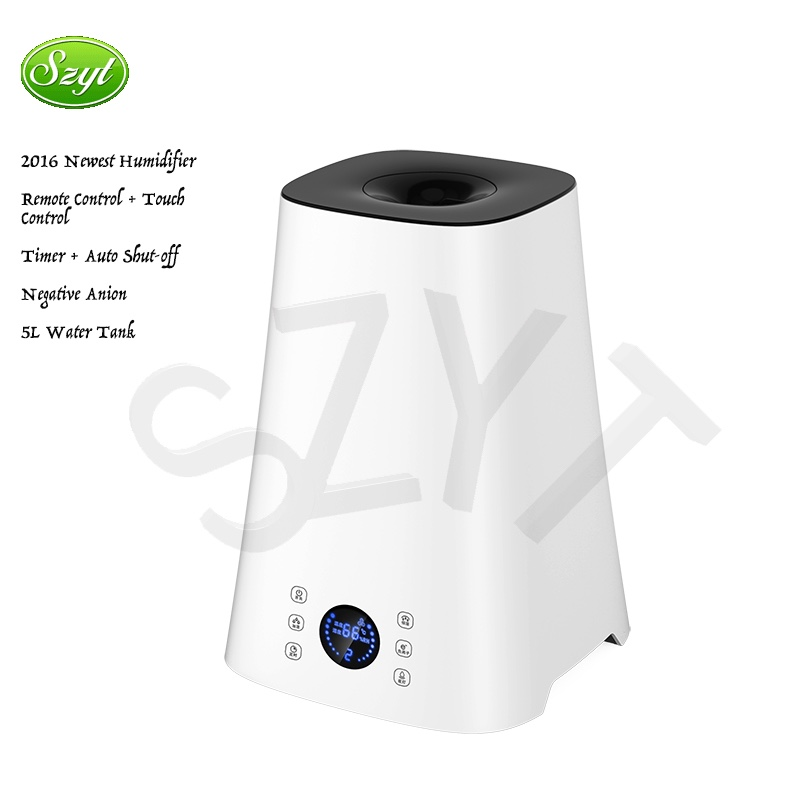 Digital Anion Air Humidifier office use ultrasonic air humidifier