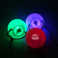 NEW LED Poi Thrown Balls for Professional Belly Dance Level Hand LED Poi