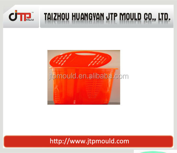 newly style integrated plastic laundry basket with cover mould