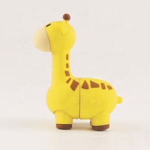 Giraffe shape usb stick colorful design products best promotion choice USB flash drives 8GB