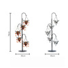 European romantic creative wrought iron candle holder decoration home candlelight dinner props crystal candlestick