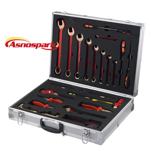 Non sparking tools set 28pcs offer ISO9001 certificate