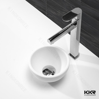 mini ronde salle de bains rsine pierre lavabo