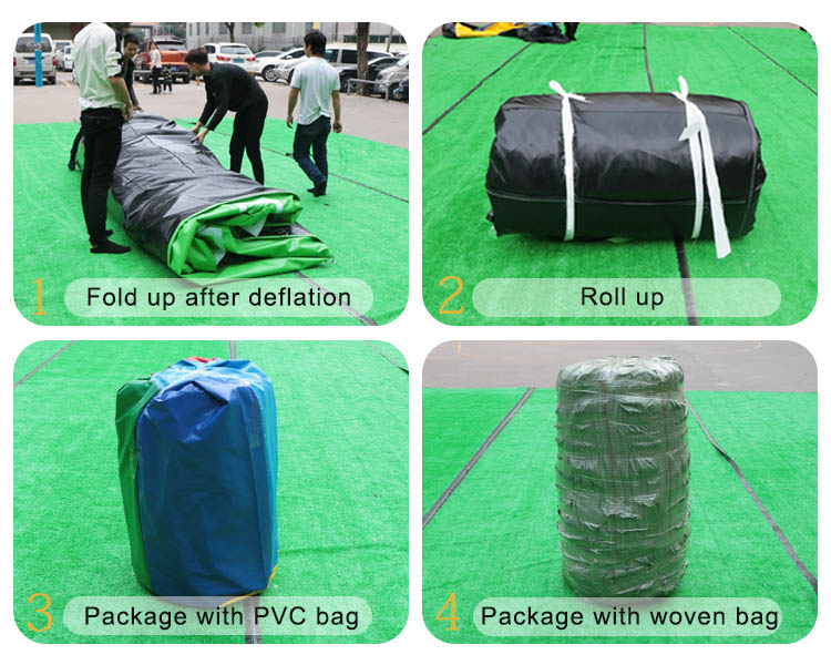 Plato PVC Sponge Mat Inflatable Air Track Drop Stitch Inflatable Gym Mat