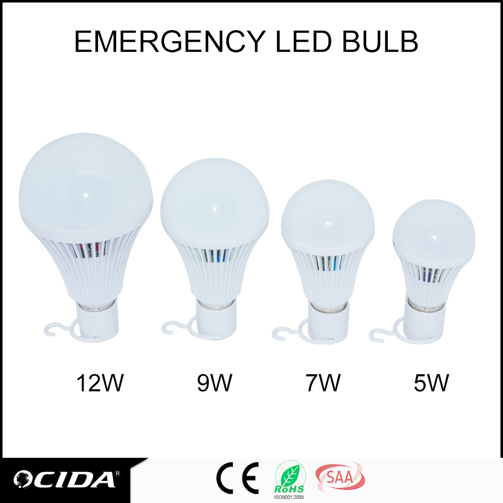 Best sales!Led Bulb light e27 machine, rechargeable emergency led light, emergency bulb light