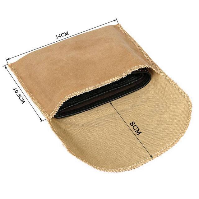Available Khaki Square Flannel Storage Bag packing bag