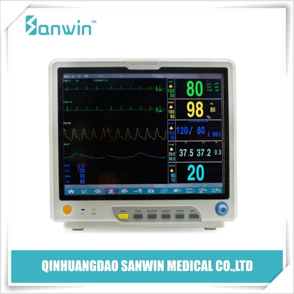 "15"" TFT color diplay Multi parameter patient monitor"