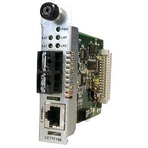 Transition Networks Ethernet Point System 10BASE-T to 10BASE-FL Media Converter - 1 x RJ-45 , 1 x SC Duplex - 10Base-T, 10Base-FL - CETTF1013-105