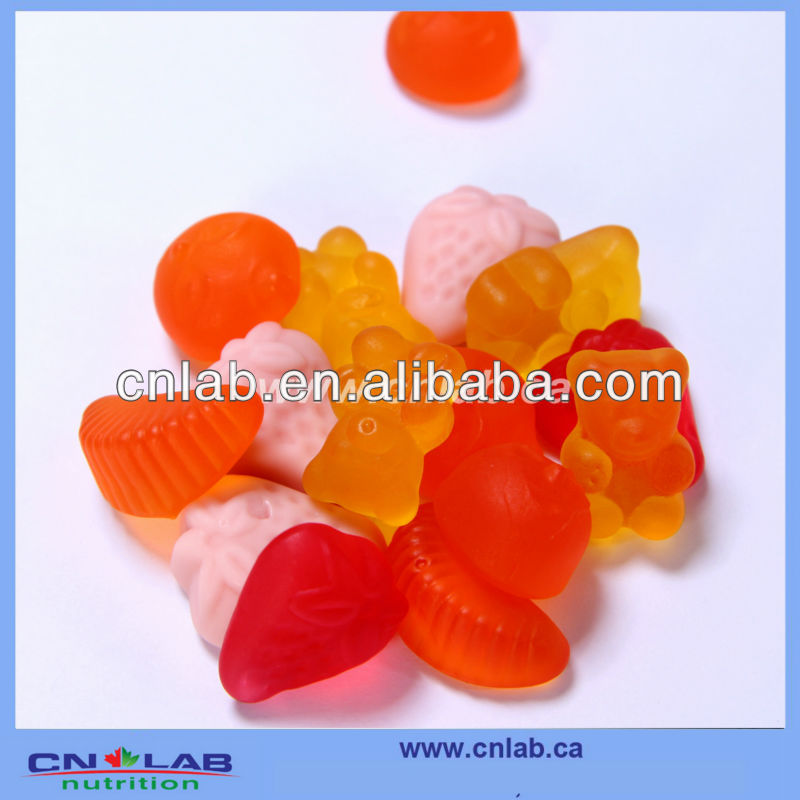 GMP monkey shape gummy candy supplier