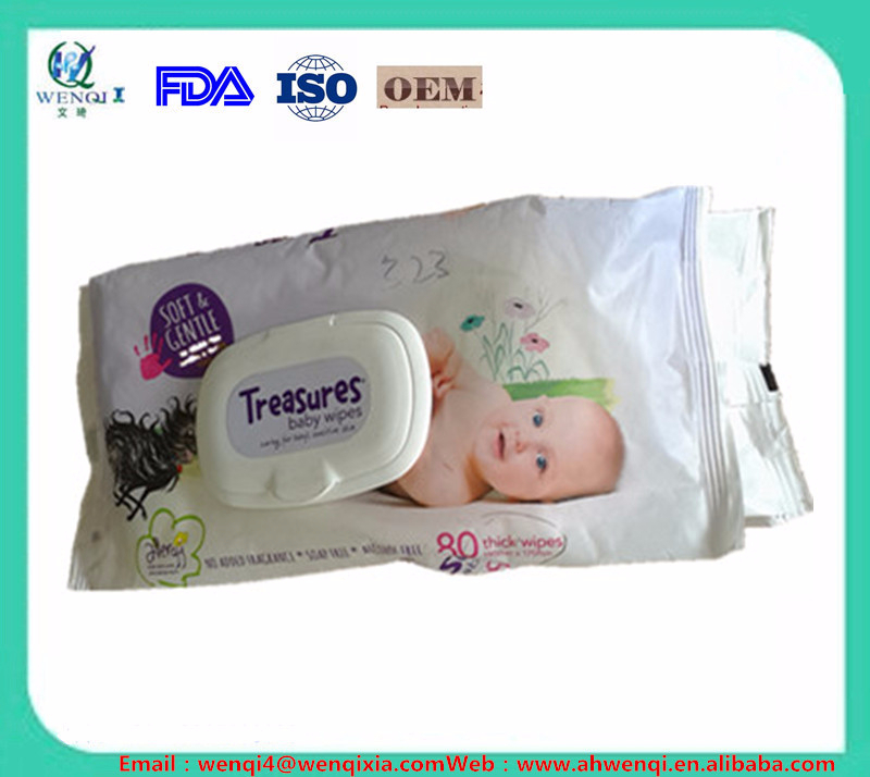 Competitive price hot sale babywipe pack