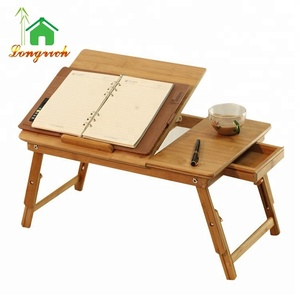 Foldable Laptop Desk Study Table Workstation Notebook Bed Table
