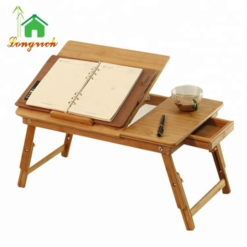 Foldable Laptop Desk Study Table Workstation Notebook Bed Product On
