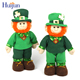 St Patrick's Day Popular custom cartoon dolls kids gifts decoration leprechaun toy