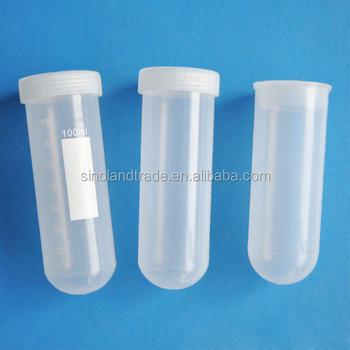 Round bottom centrifuge tubes
