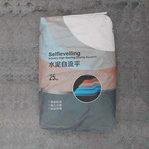 Gypsum based flexible self levelling floor compound