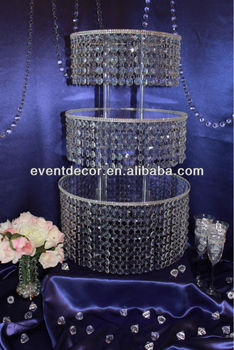 Beautiful crystal chandelier cake stand for wedding centerpieces beautiful crystal chandelier cake stand for wedding centerpieces aloadofball Choice Image
