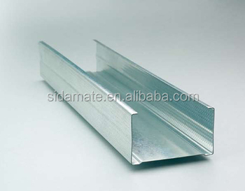 Steel Frames Profiles For Plasterboard Partition Gypsum