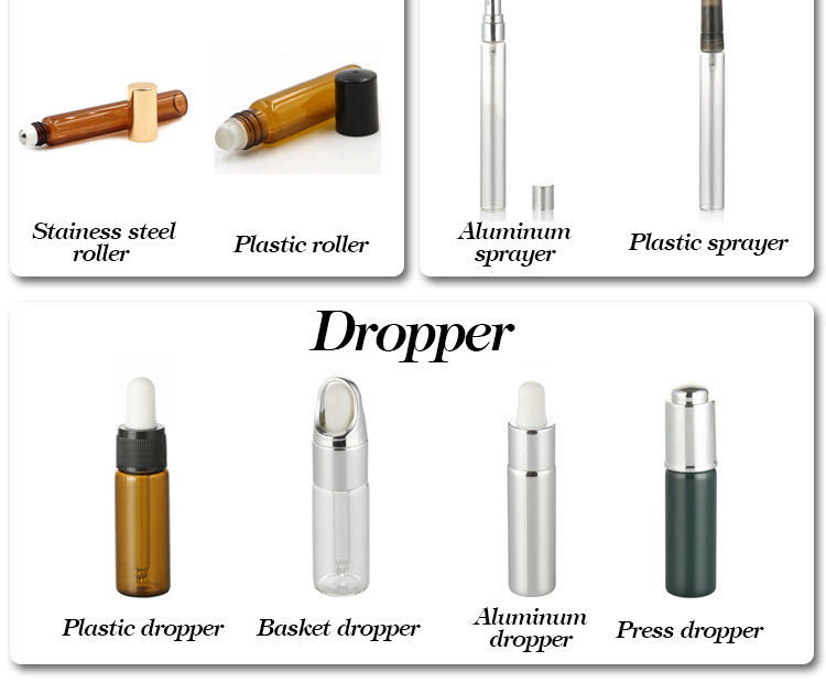 5ml 8ml 10ml glass tube amber serum glass bottle with dropper