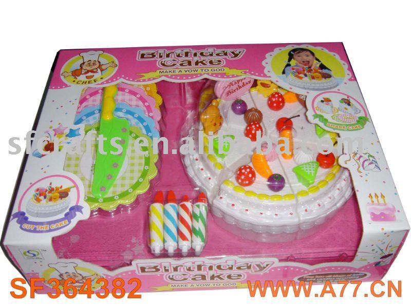 Awesome Plastic Birthday Cake Toy Buy Plastic Food Toy Cake Birthday Personalised Birthday Cards Veneteletsinfo