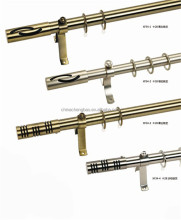 China supplier led wrought iron curtain rods