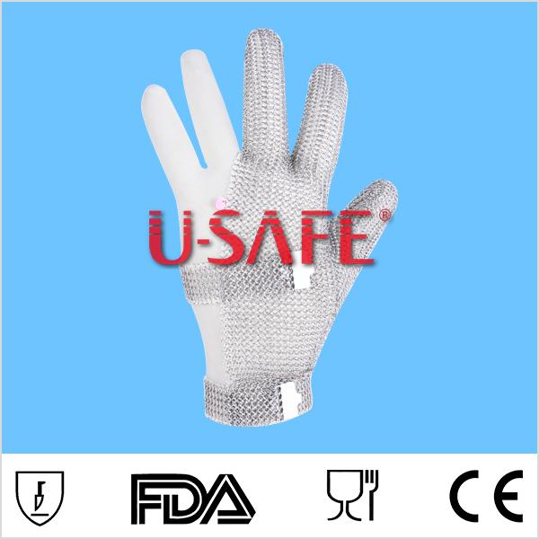 Food Grade Metal Mesh Cut Proof Industrial Working Safety Three ...