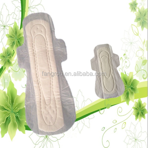 350 cotton with wings sanitary napkins lady care products
