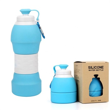 12f95fd6b2 Alibaba New Product Collapsible Water Bottle BPA free Sport Silicone Water  Bottles
