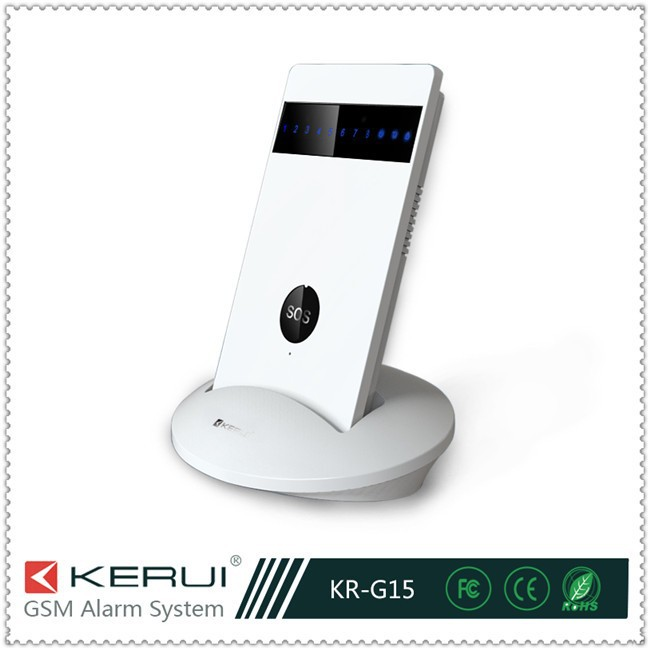 Newest Wireless Gsm Apartment Alarm Security Systems With Fcc ...