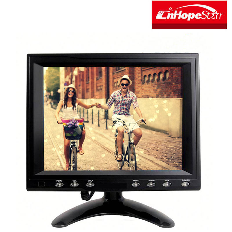 8 Inch USB Displaylink Resistive Touch Screen LCD Monitor