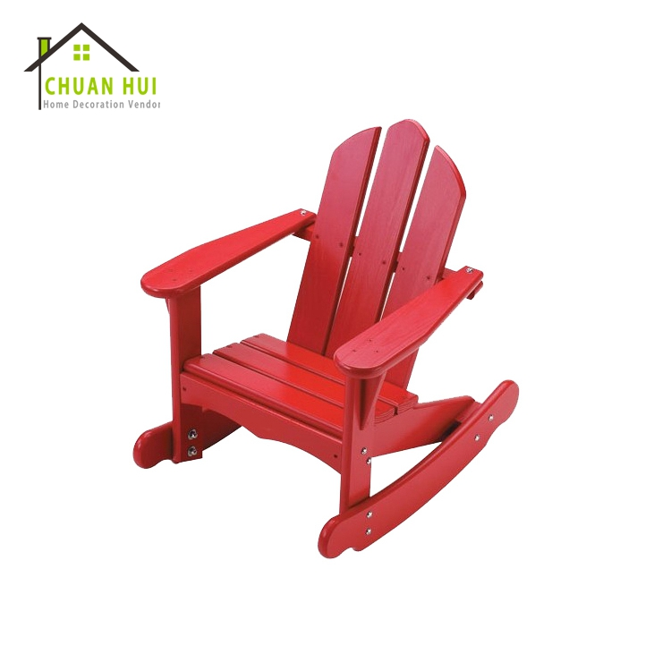 Antique wood rocking chair for child , wood recline rocking chair
