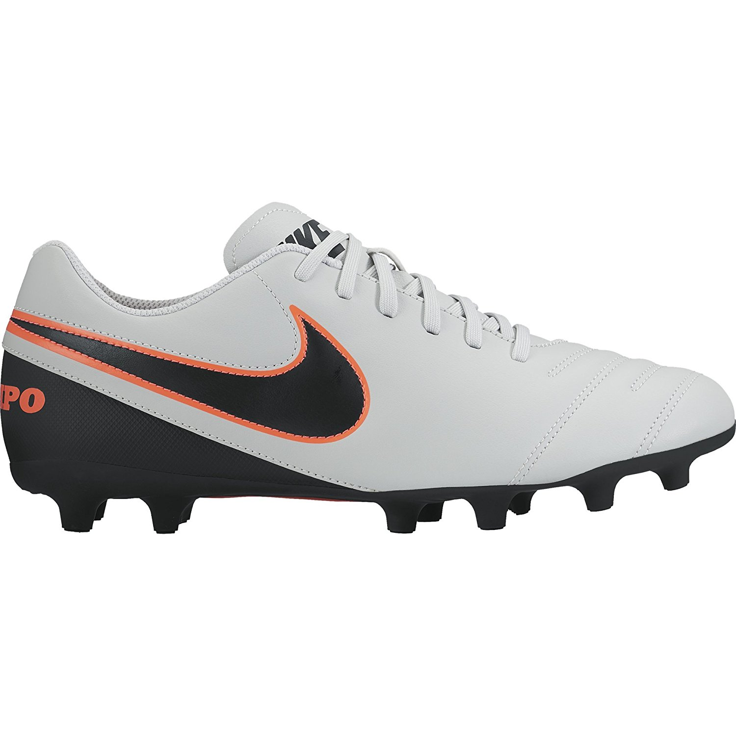 ec475ca7ab3 Get Quotations · New Nike Tiempo Rio lll FG Size Men 11.5 Soccer Cleats  Plt Blk Orng
