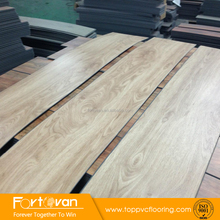 2017 Cheap indoor plank vinyl plastic pvc flooring wood look