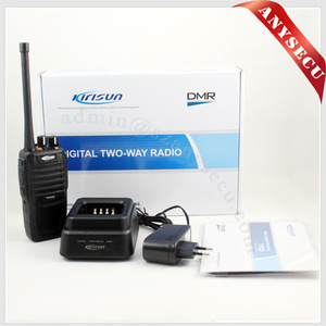 waterproof IP67 automotive radio VHF 136-174mhz KIRISUN TP620 DMR digital handheld transceiver