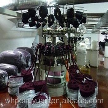 Best selling circular knitting machine for long pile fabric