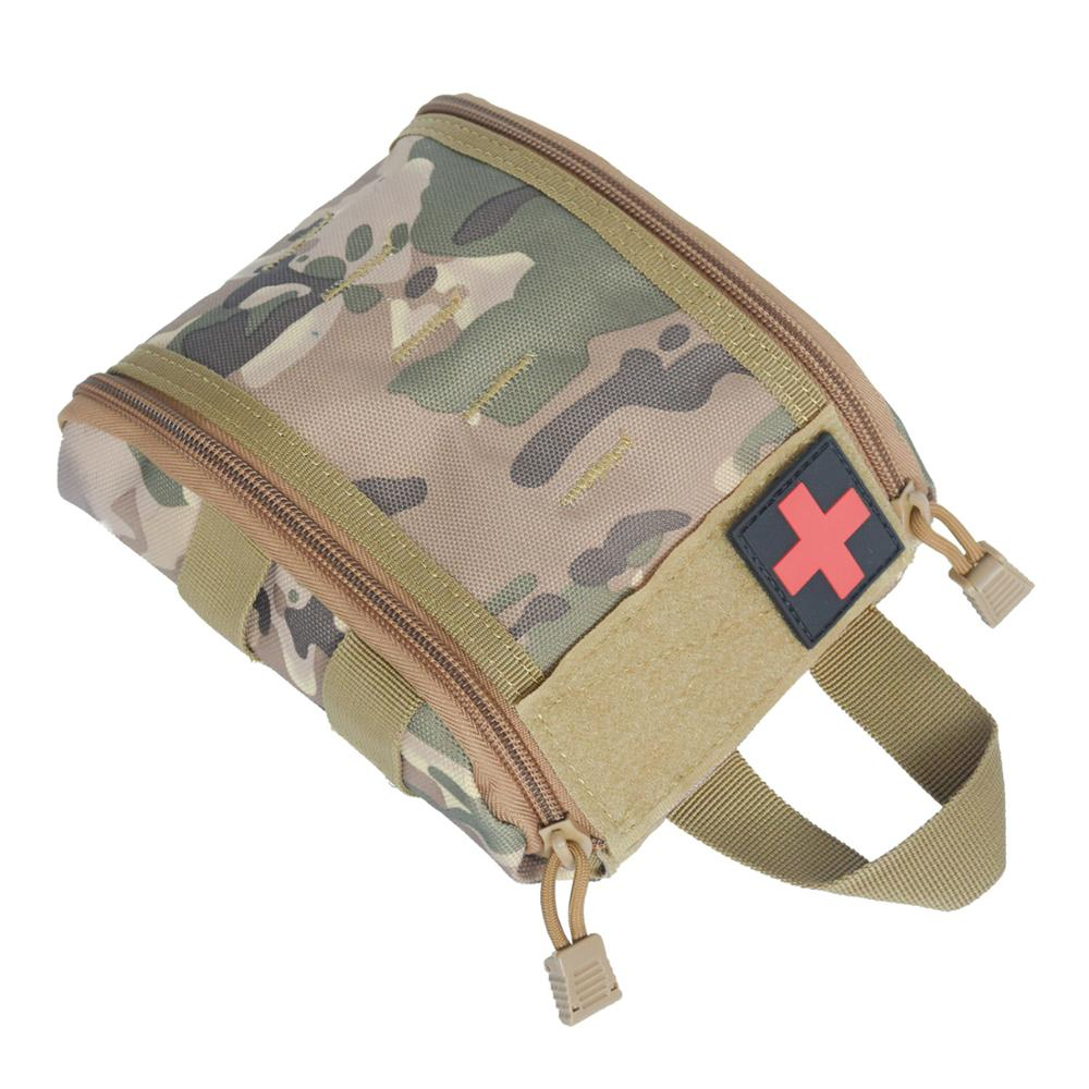 Camouflage Leggero Molle Tactical First Aid Kit Pouch Bag