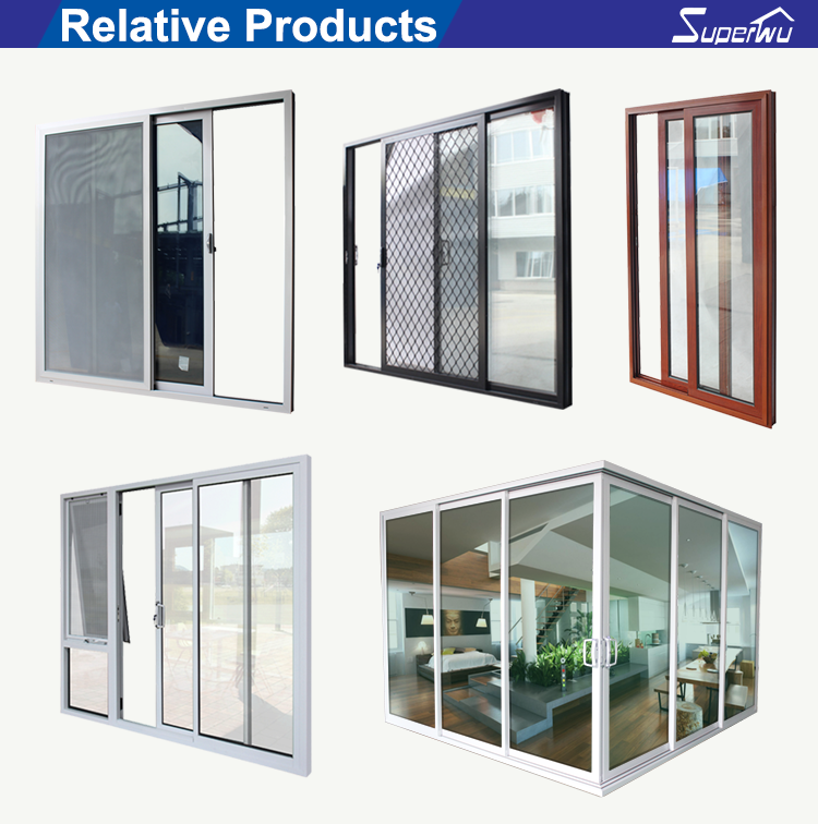 Commercial system triple glass aluminum price of fire rated sliding door installation to divide room