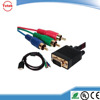 VGA to 1.5 M 3 rca hd audio cable A male turn red, green and blue cable