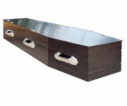 Handels assurance lieferant angemessener preis beerdigung sarg neue design holz urne trolley