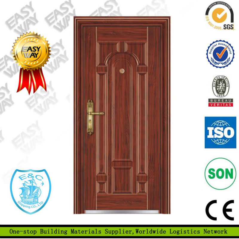 steel french security door without glass