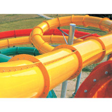 China made fiberglass water slide water tubes