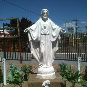 Customized Service Marble life size jesus statue