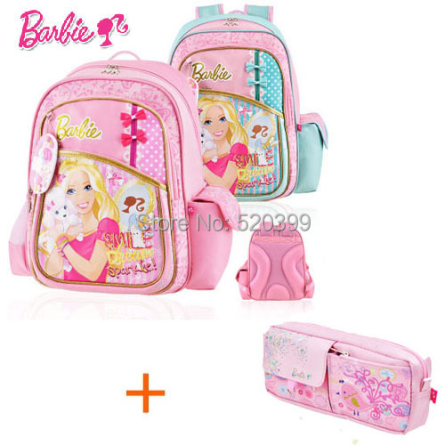 Barbie Orthopedic Ergonomic Primary School Bag Books Child Children Backpack Portfolio For S Class Grade 2 4 Gift In Price On Alibaba